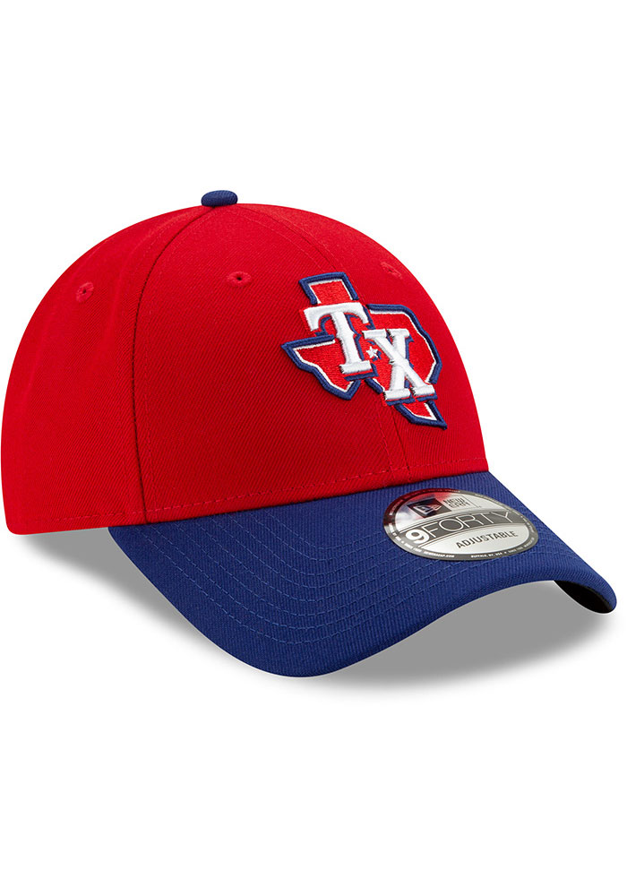 New Era Texas Rangers 2T Alt 3 The League 9FORTY Adjustable Hat - Red - Image 2