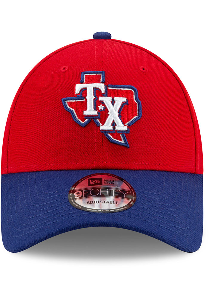 New Era Texas Rangers 2T Alt 3 The League 9FORTY Adjustable Hat - Red - Image 3