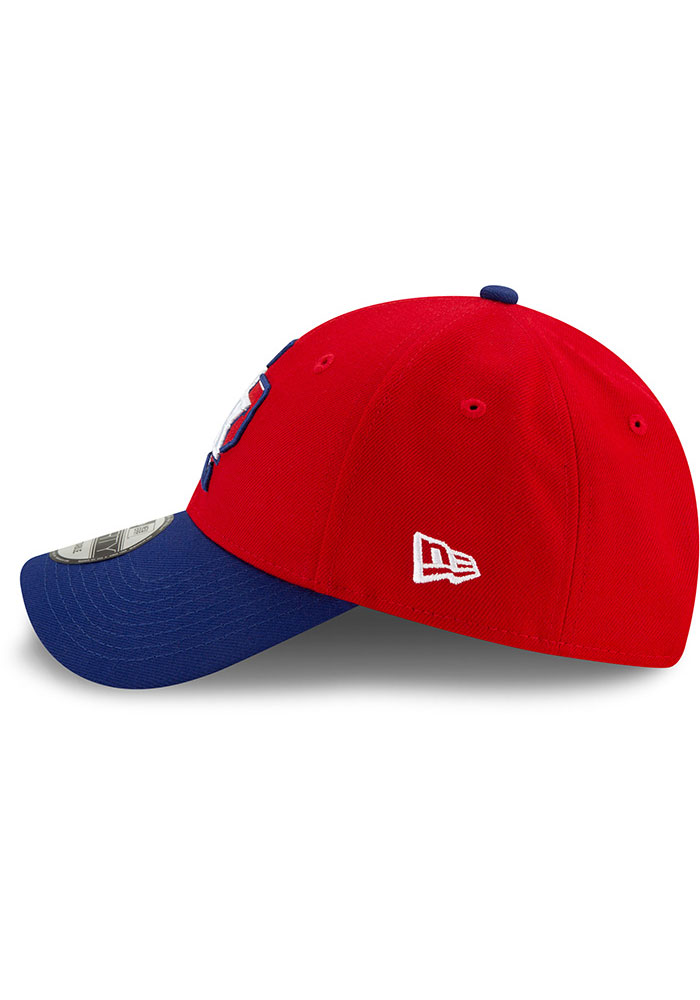 New Era Texas Rangers 2T Alt 3 The League 9FORTY Adjustable Hat - Red - Image 4