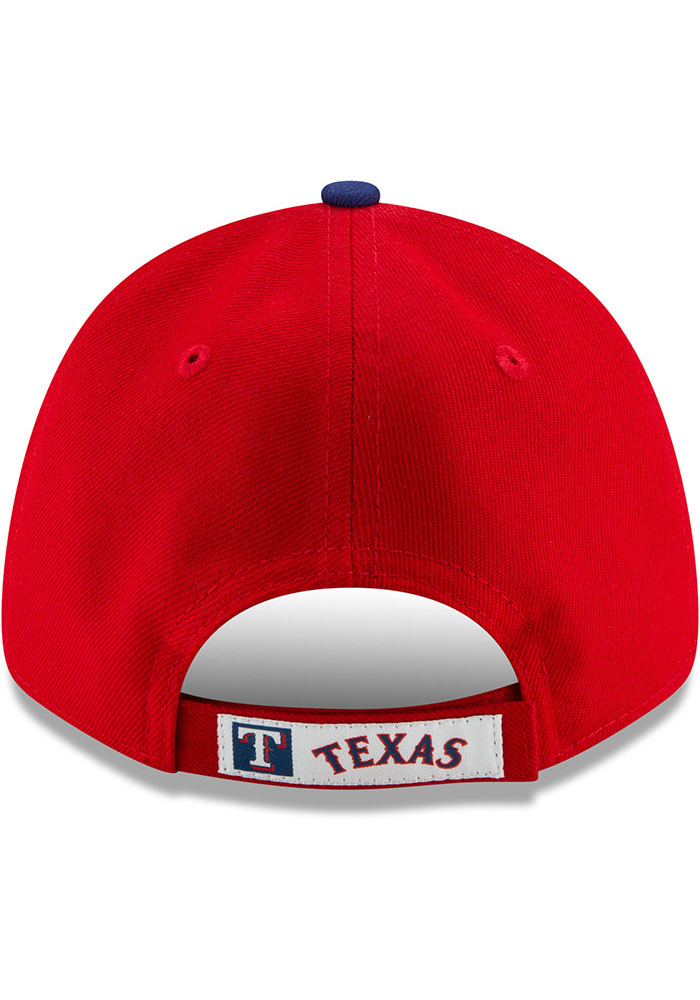 New Era Texas Rangers 2T Alt 3 The League 9FORTY Adjustable Hat - Red - Image 5