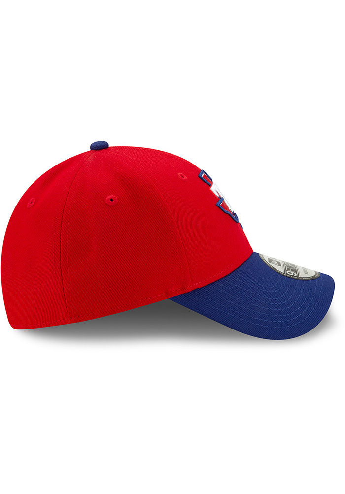 New Era Texas Rangers 2T Alt 3 The League 9FORTY Adjustable Hat - Red - Image 6