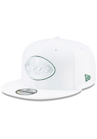 New York Jets New Era NFL19 Platinum 9FIFTY Snapback - White