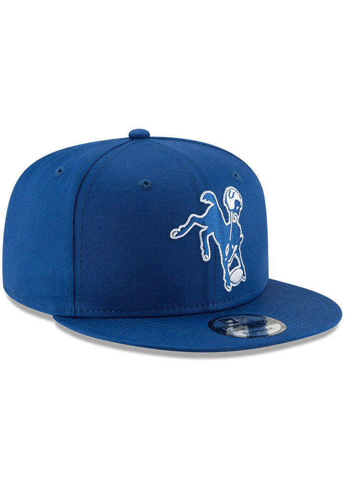 New Era Indianapolis Colts Blue Retro 9FIFTY Mens Snapback Hat - Image 2