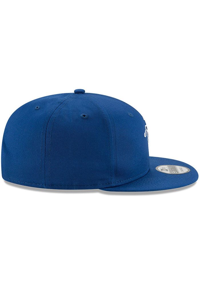 New Era Indianapolis Colts Blue Retro 9FIFTY Mens Snapback Hat - Image 6