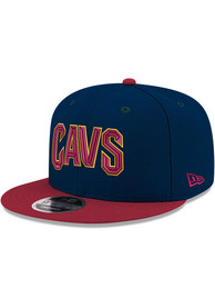 Cleveland Cavaliers Youth New Era 2T JR 9FIFTY Snapback Hat - Navy Blue