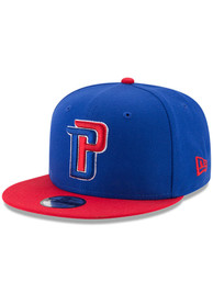 Detroit Pistons Youth New Era 2T JR 9FIFTY Snapback Hat - Blue