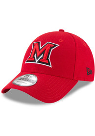 Miami RedHawks New Era The League 9FORTY Adjustable Hat - Red