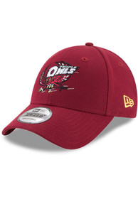 Temple Owls New Era The League 9FORTY Adjustable Hat - Maroon