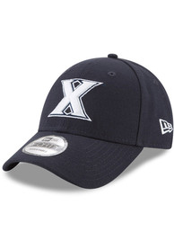 Xavier Musketeers New Era The League 9FORTY Adjustable Hat - Navy Blue