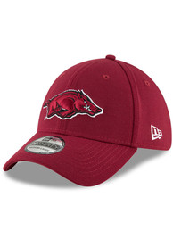 Arkansas Razorbacks New Era Team Classic 39THIRTY Flex Hat - Red