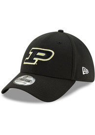 Purdue Boilermakers New Era Team Classic 39THIRTY Flex Hat - Black