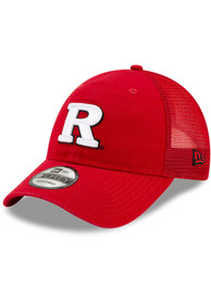 Rutgers Scarlet Knights New Era Trucker 9FORTY Adjustable Hat - Red