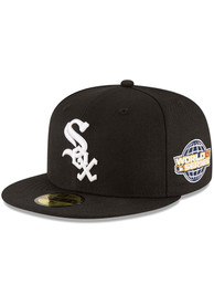 Chicago White Sox New Era 2005 World Series Side Patch 59FIFTY Fitted Hat - Black