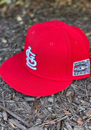St Louis Cardinals New Era 2006 World Series Side Patch 59FIFTY Fitted Hat - Red