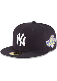 New York Yankees New Era 1996 World Series Side Patch 59FIFTY Fitted Hat - Navy Blue