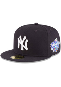 New York Yankees New Era 1998 World Series Side Patch 59FIFTY Fitted Hat - Navy Blue
