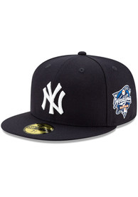 New York Yankees New Era 2000 World Series Side Patch 59FIFTY Fitted Hat - Navy Blue
