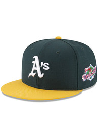 Oakland Athletics New Era 1989 World Series Side Patch 59FIFTY Fitted Hat - Green