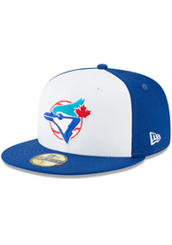 Toronto Blue Jays New Era Cooperstown 59FIFTY Fitted Hat - Blue