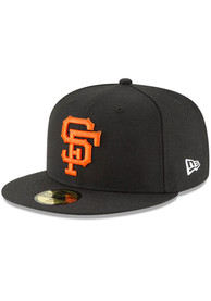 San Francisco Giants New Era Cooperstown 59FIFTY Fitted Hat - Black