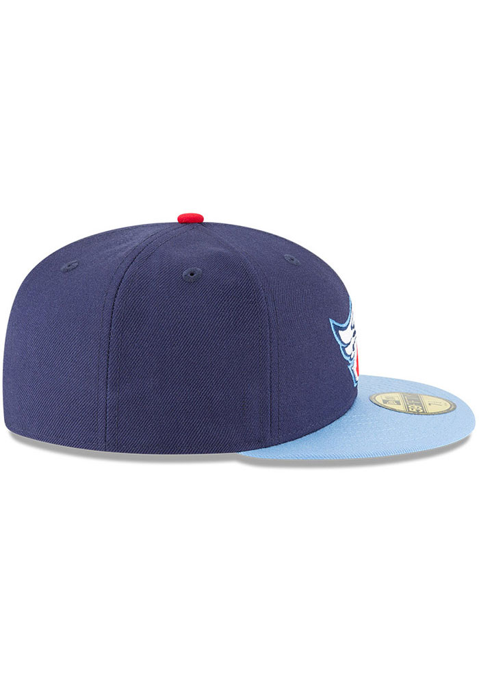 New Era Los Angeles Angels Mens Navy Blue Cooperstown 59FIFTY Fitted Hat - Image 6