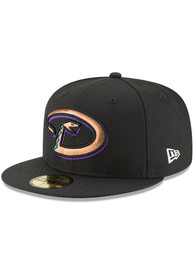 Arizona Diamondbacks New Era Cooperstown 59FIFTY Fitted Hat - Black
