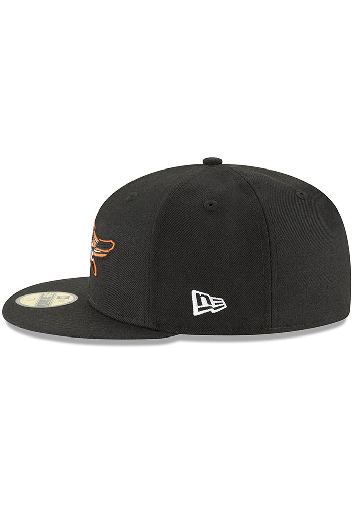 New Era Baltimore Orioles Mens Black Cooperstown 59FIFTY Fitted Hat - Image 4
