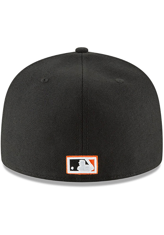 New Era Baltimore Orioles Mens Black Cooperstown 59FIFTY Fitted Hat - Image 5