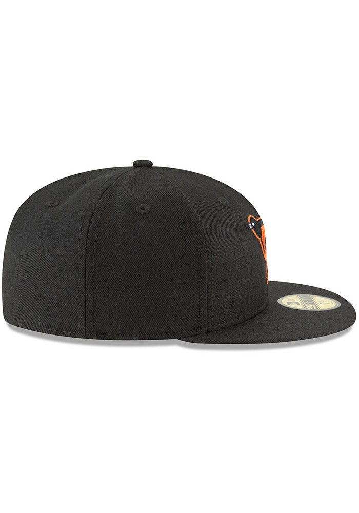 New Era Baltimore Orioles Mens Black Cooperstown 59FIFTY Fitted Hat - Image 6