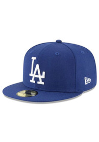 Los Angeles Dodgers New Era Cooperstown 59FIFTY Fitted Hat - Blue
