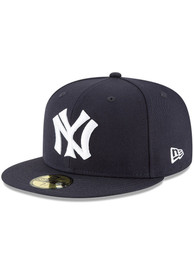 New York Yankees New Era Cooperstown 59FIFTY Fitted Hat - Navy Blue