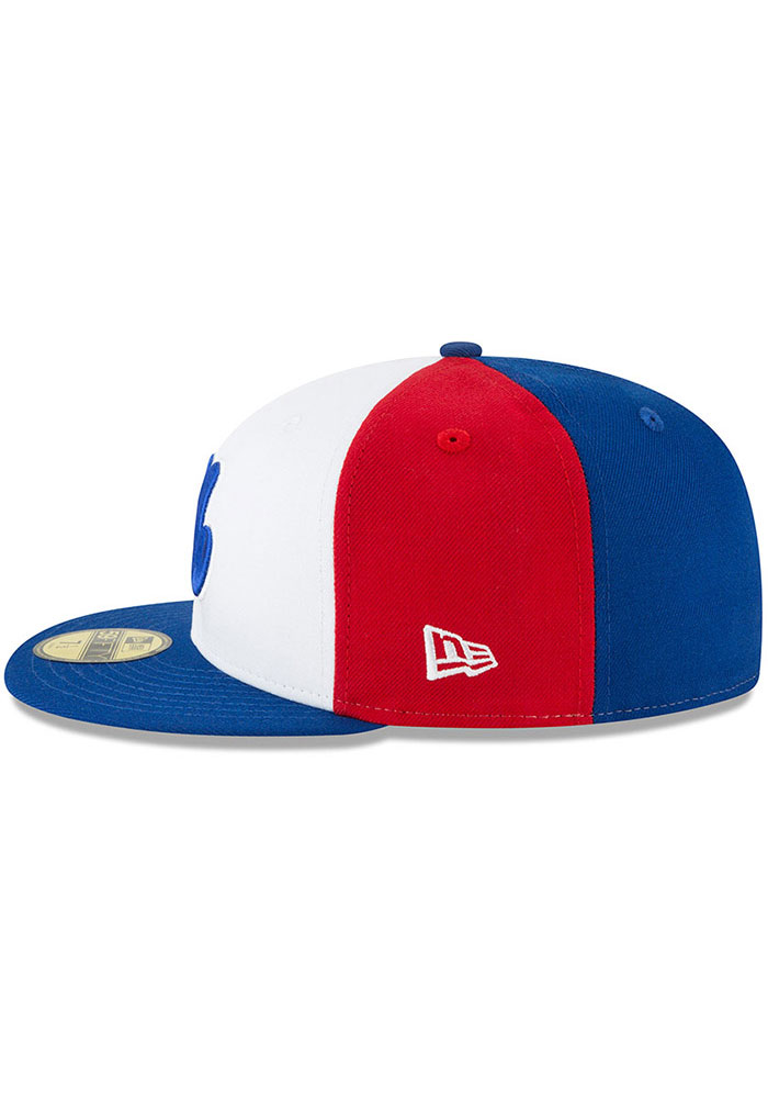 New Era Washington Nationals Mens White Montreal Expos Cooperstown 59FIFTY Fitted Hat - Image 4