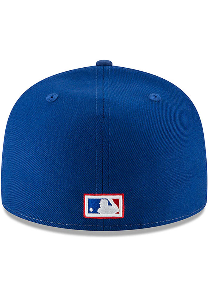 New Era Washington Nationals Mens White Montreal Expos Cooperstown 59FIFTY Fitted Hat - Image 5