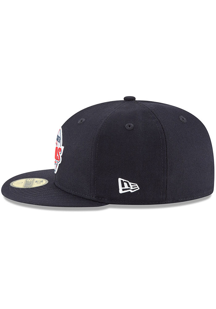 New Era Minnesota Twins Mens Navy Blue Cooperstown 59FIFTY Fitted Hat - Image 4