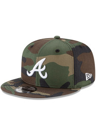 Atlanta Braves New Era Fashion 9FIFTY Snapback - Green