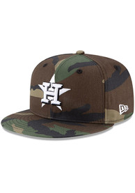 Houston Astros New Era Fashion 9FIFTY Snapback - Green