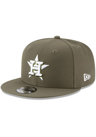 Houston Astros New Era Fashion 9FIFTY Snapback - Olive