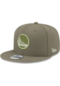 Golden State Warriors New Era Fashion 9FIFTY Snapback - Olive