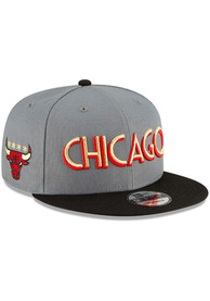 Chicago Bulls New Era 2020 Official City Series 9FIFTY Snapback - Charcoal