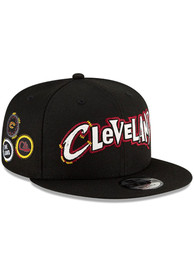 Cleveland Cavaliers New Era 2020 Official City Series 9FIFTY Snapback - Black
