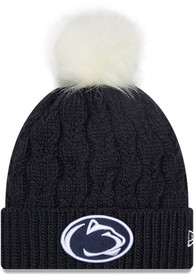 Penn State Nittany Lions Womens New Era Flurry Knit - White
