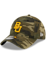 Baylor Bears New Era Core Classic 9TWENTY Adjustable Hat - Green