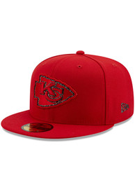 Kansas City Chiefs New Era Logo Spark 59FIFTY Fitted Hat - Red