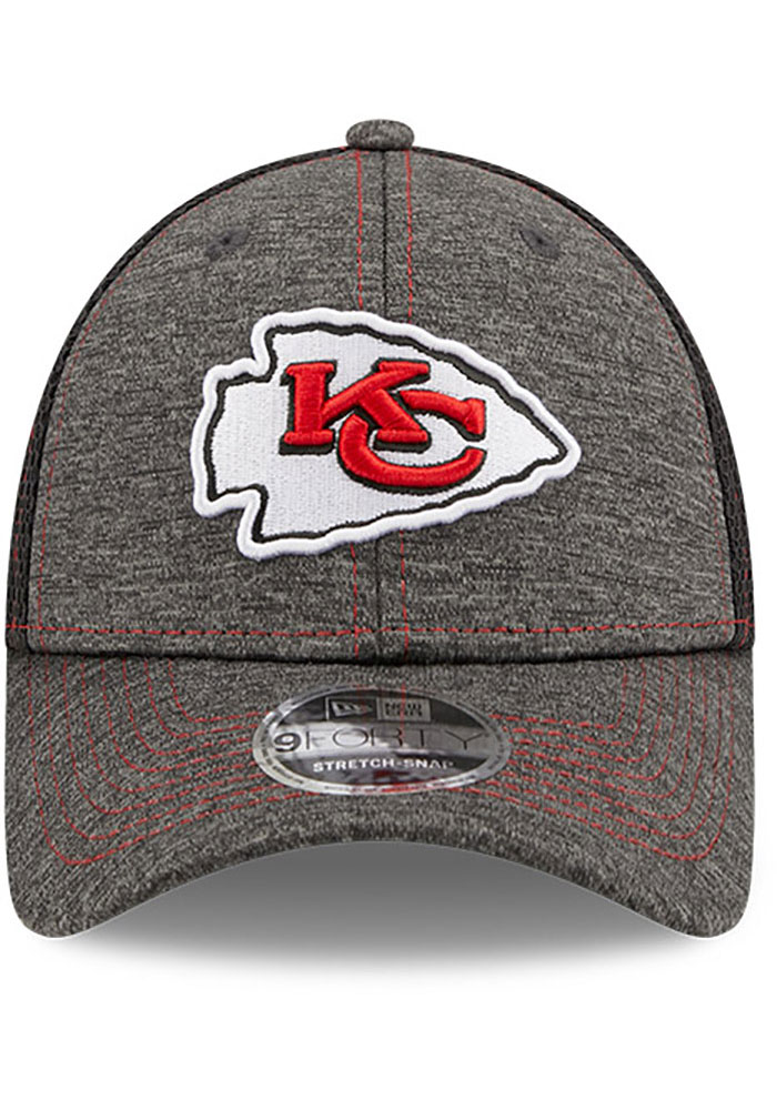 New Era Kansas City Chiefs Grey JR STH Neo 9FORTY Youth Adjustable Hat - Image 3