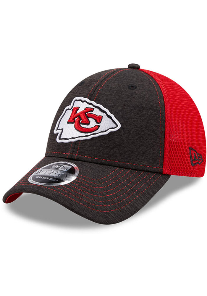 New Era Kansas City Chiefs Red JR STH Neo 9FORTY Youth Adjustable Hat - Image 1