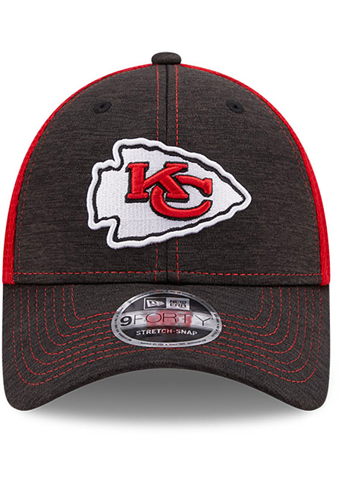 New Era Kansas City Chiefs Red JR STH Neo 9FORTY Youth Adjustable Hat - Image 3