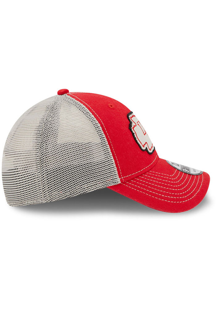 New Era Kansas City Chiefs Red JR Rugged 9FORTY Youth Adjustable Hat - Image 6