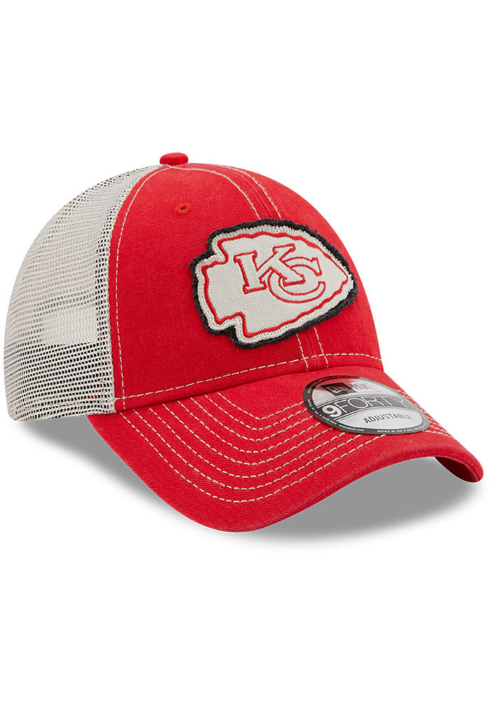 New Era Kansas City Chiefs Red JR Rugged 9FORTY Youth Adjustable Hat - Image 2