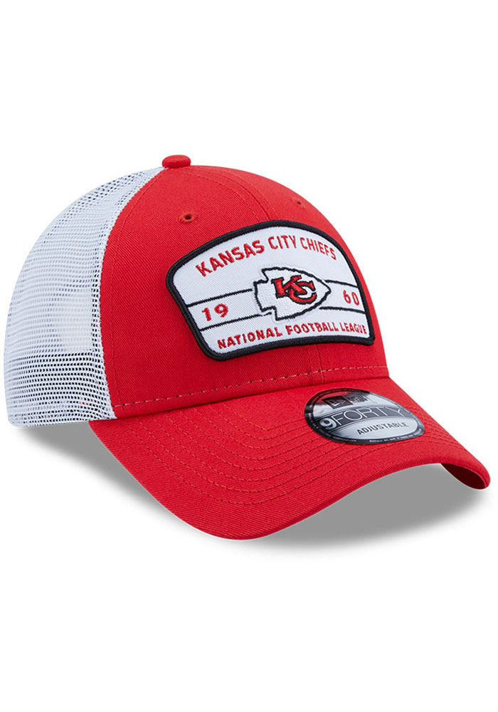 New Era Kansas City Chiefs Loyalty 9FORTY Adjustable Hat - Red - Image 2
