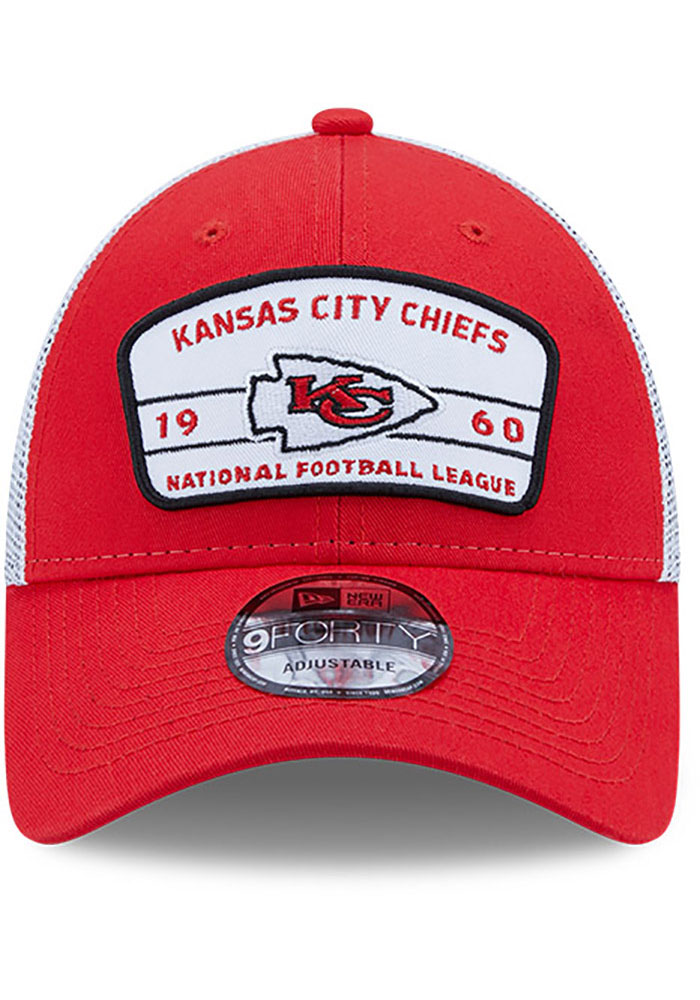 New Era Kansas City Chiefs Loyalty 9FORTY Adjustable Hat - Red - Image 3